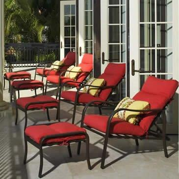 Commercial Grade Outdoor Furniture Design commercial & poolside - outdoor roomsdesign