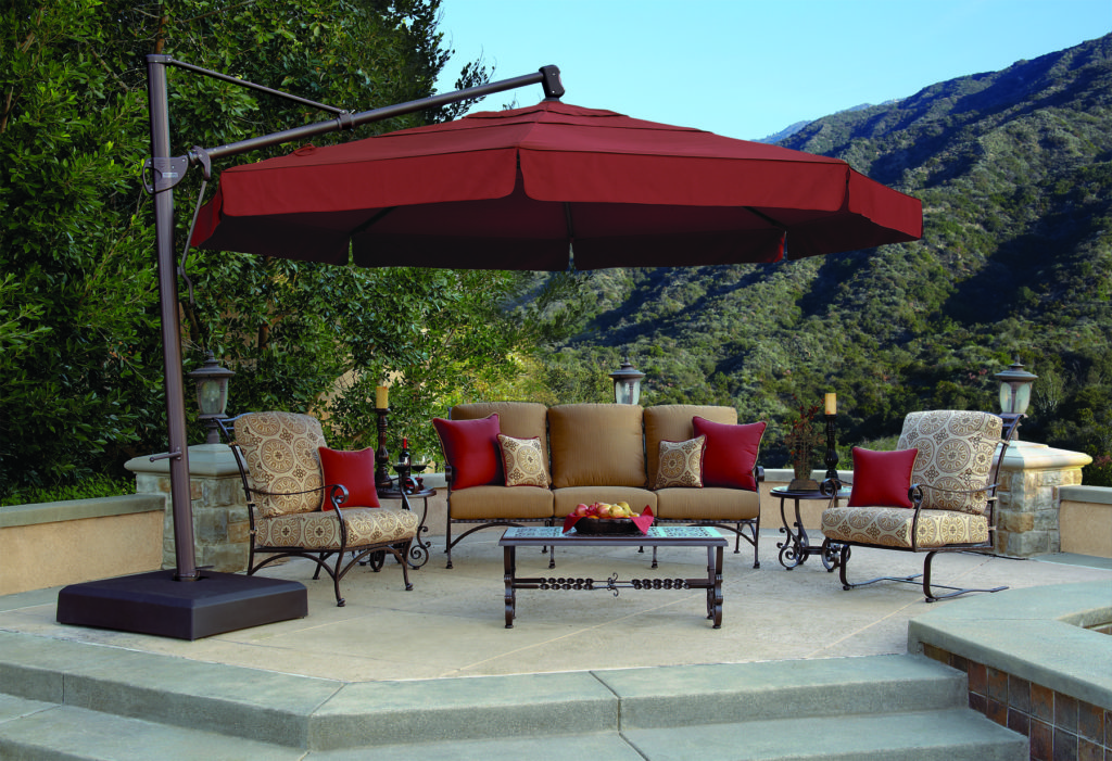 Umbrellas amp Shade Outdoor Rooms By Design