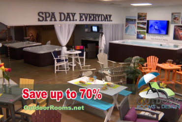 FALL HOT TUBS, SWIM SPAS, OUTDOOR FURNITURE TENT SALE 2017 – 3 DAYS ONLY!